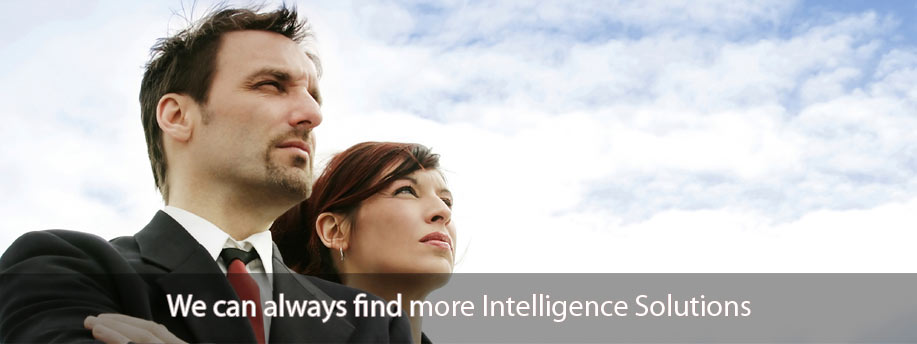 We can always find more Intelligence Solutions