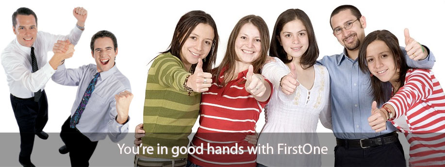 You're in good hands with FirstOne